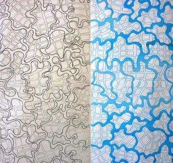 Fathia Haski – papier peint – carrelage