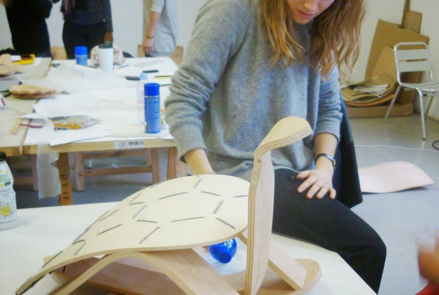 Agathe Le Cornec – Jean-Marc Cnockaert – Sköldpadda – Fabrication