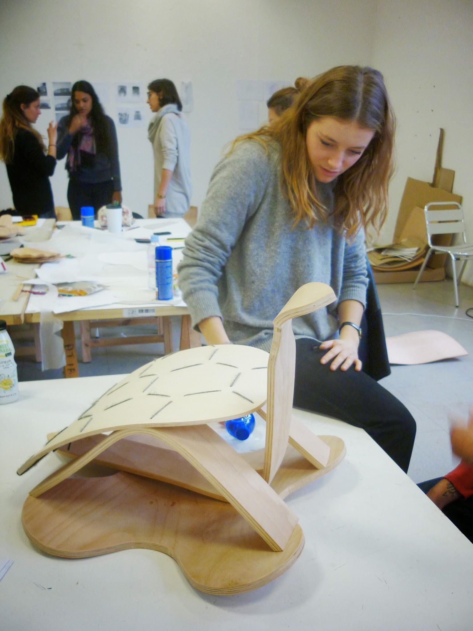 Agathe Le Cornec - Jean-Marc Cnockaert - Sköldpadda - Fabrication